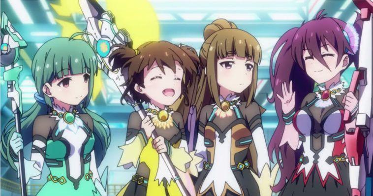 Anime battle girl high school based on
