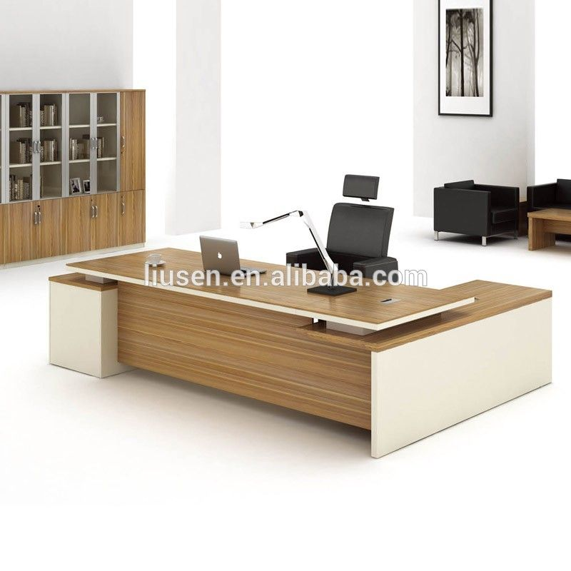 2016 Low Price Office Furniture Desk Modern Wood Ceo Executive