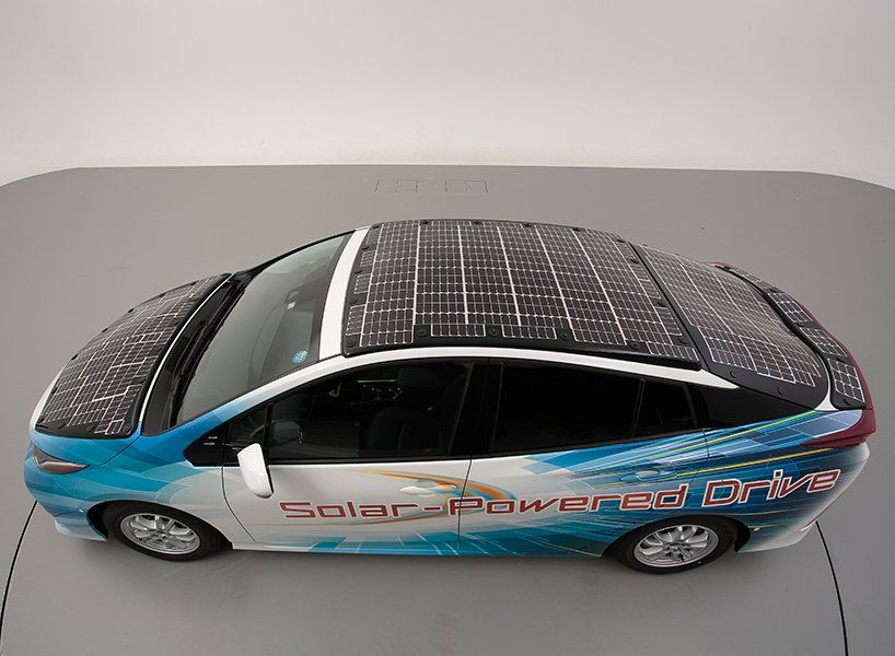 Solar Panelled Toyota Prius Harnesses Additional 27 Miles Of Range