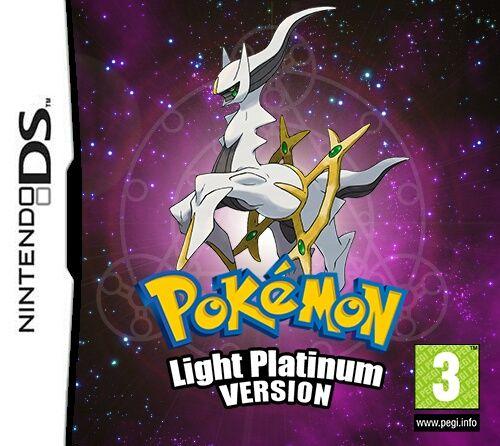 Pokemon Light Platinum Nds Pokemon Light Pokemon Pokemon Firered