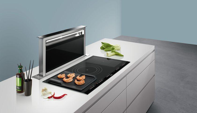 Siemens downdraft afzuigkap #siemens #afzuigkap #kookeiland - versenkbare steckdose küche