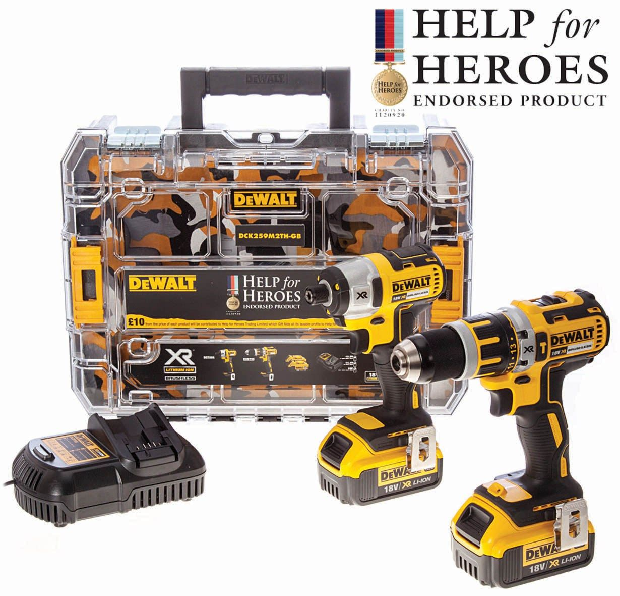 dewalt dck259m2th 18v xr 4ah dcd795 hammer drill dcf886 impact driver tstak v rw jeeps. Black Bedroom Furniture Sets. Home Design Ideas