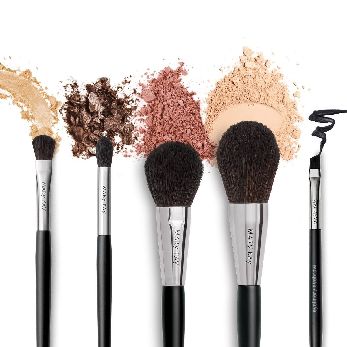 Beautiful brush collection by Mary Kay