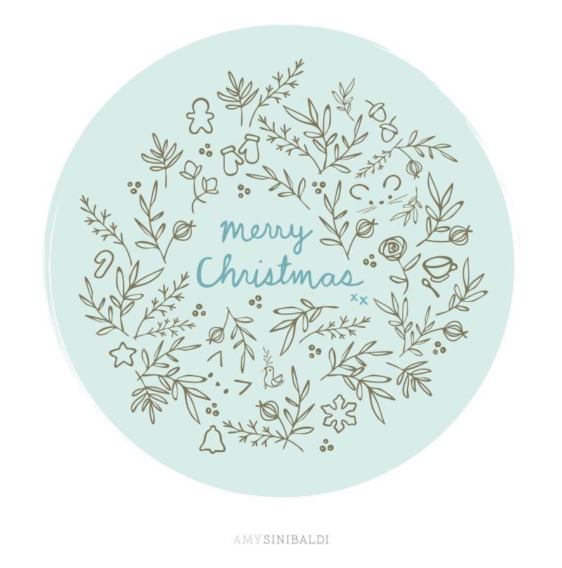 WinterSketch-MerryChristmas - freebies and tutorials