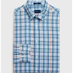 Photo of Gant Light Regular Plaid Oxford Shirt (Blau) Gant