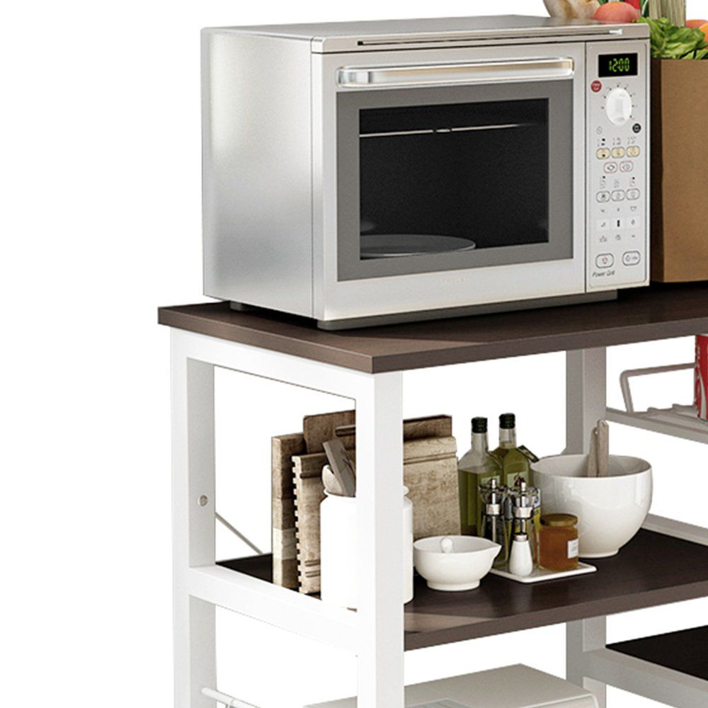 Soges 3tier Kitchen Bakers Rack Utility Microwave Oven Stand