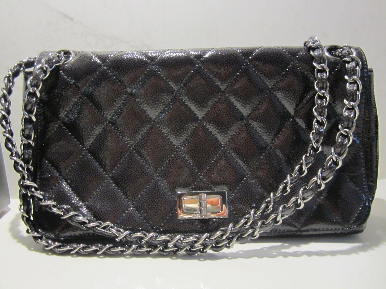 CHANEL 100% Authentic Black Coated Medium Caviar Flap Bag Mademoiselle Clasp https://t.co/E5HCM9vJBi https://t.co/2xz4siHXnS