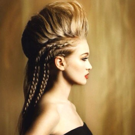 2011 Naha Finalists Student Hairstylist High Fashion Hair Hair Styles Braids For Long Hair