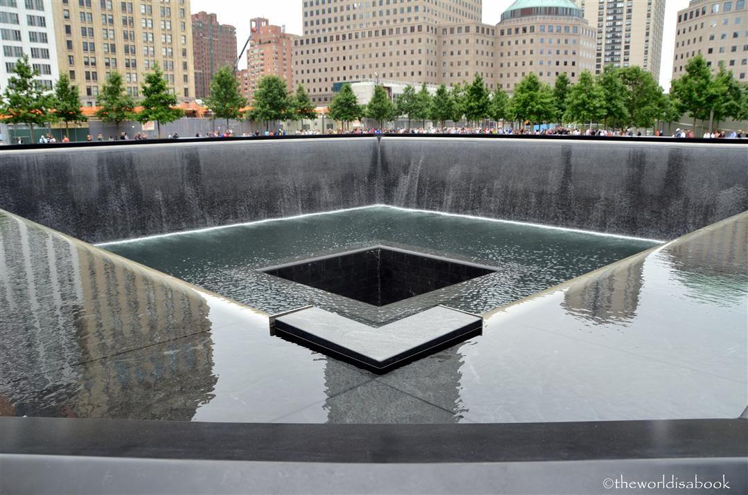 Visiting New York City's 9/11 Memorial
