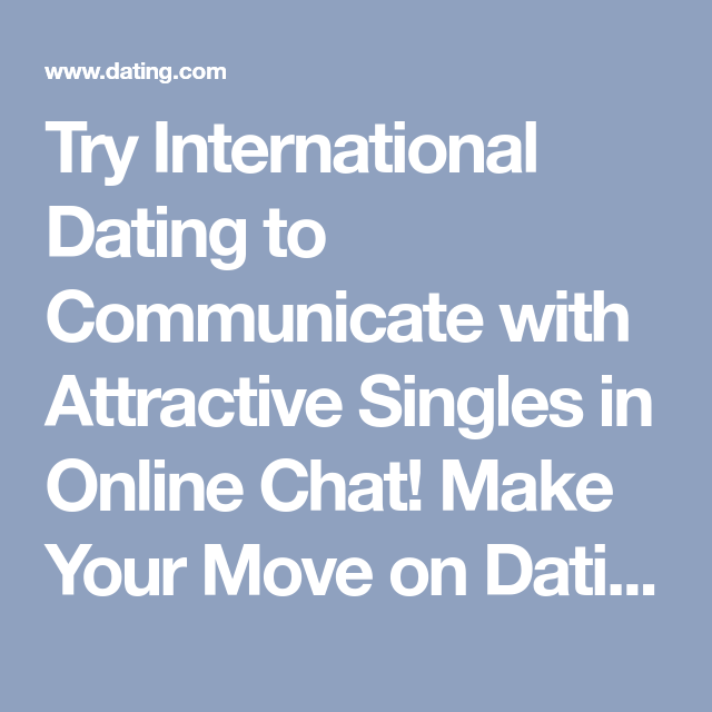 International dating chat rooms