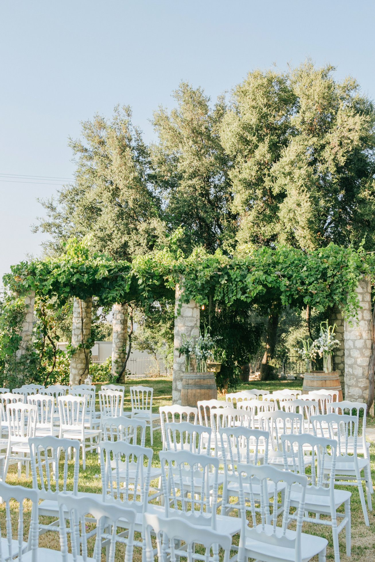 Fine Art Location Shot Of Dourakis Winery In Chania Crete By Wedding Photographer Team