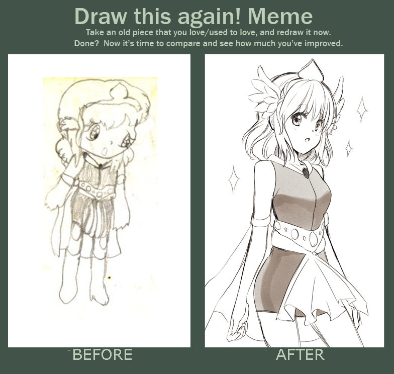 Before After Meme Character Poses Cool Drawings Character Design Inspiration