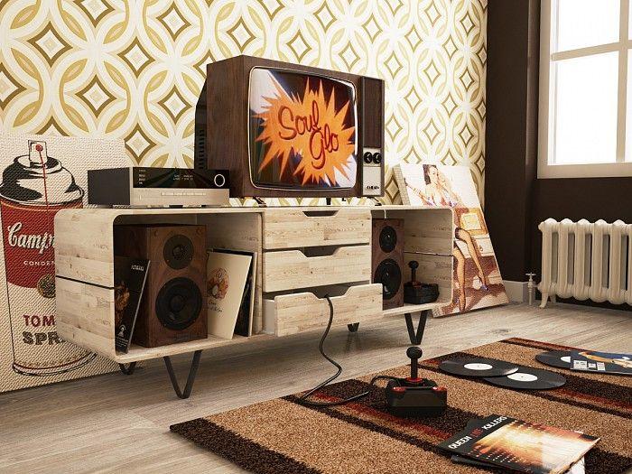 Retro Bedroom Design Fair Retro Bedroom Design  Things I Love  Pinterest  Retro Bedrooms Decorating Design
