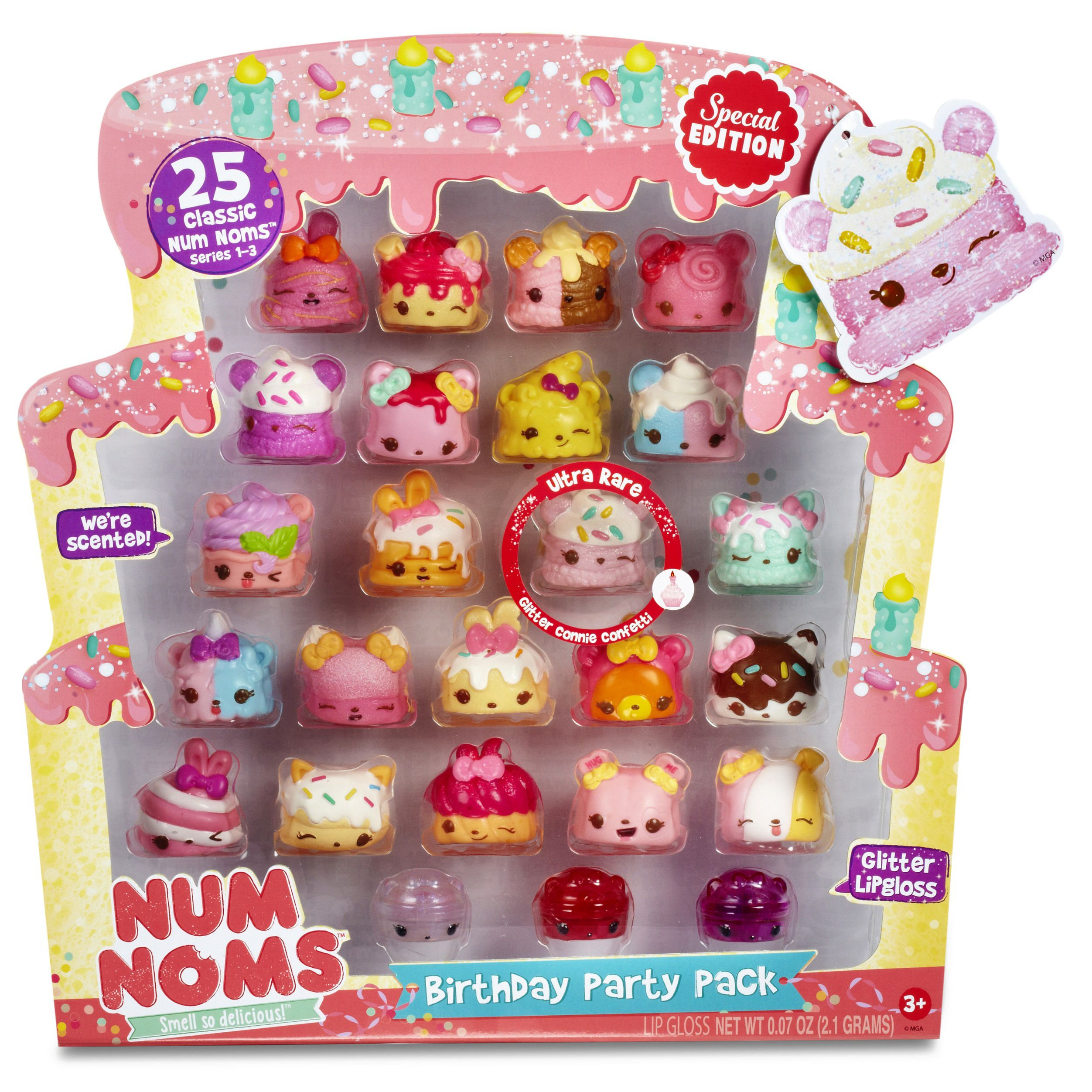 Video Review For Num Noms Birthday Party Pack 25 Pieces