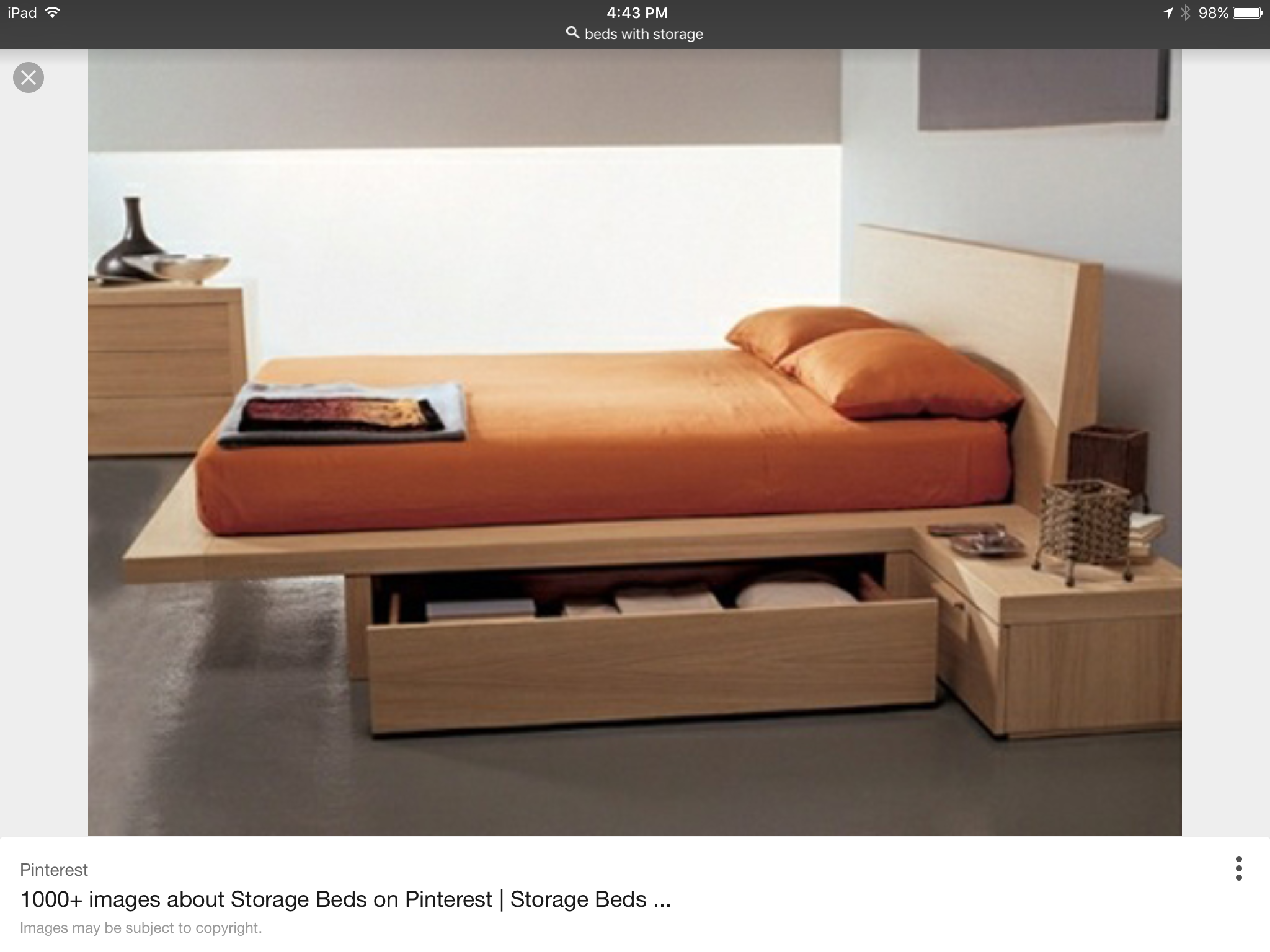 Pin by Geoff Edwards on Furniture Bed frame with storage