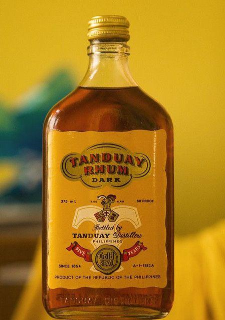 Tanduay Rhum  Lighting Study  Wasted  Tanduay rum Rum