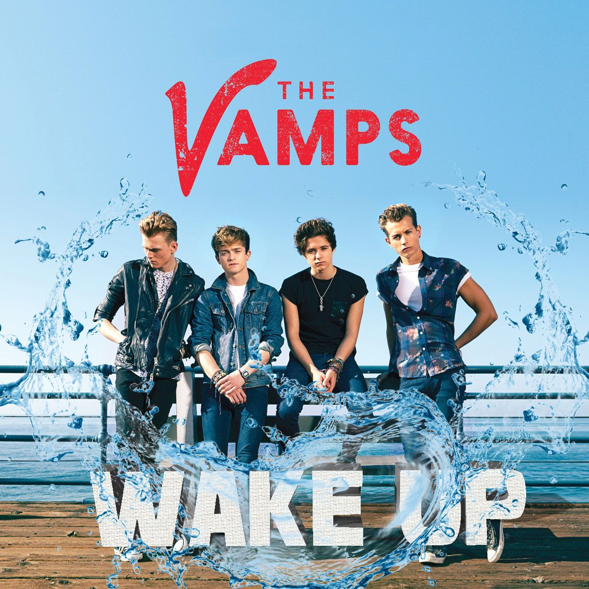 The Vamps Poster Wake Up FREE P+P CHOOSE YOUR SIZE Meet the Vamps Hot Boyband