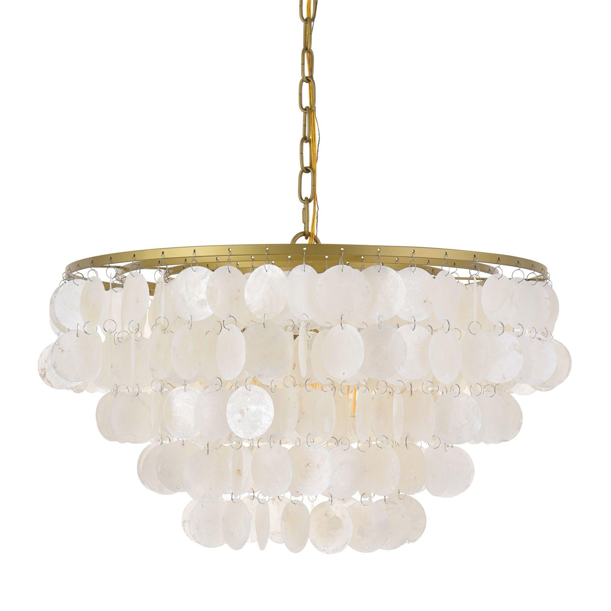 Elegant Lighting Ld5050d20 Selene 4 Light 20 Wide Chandelier