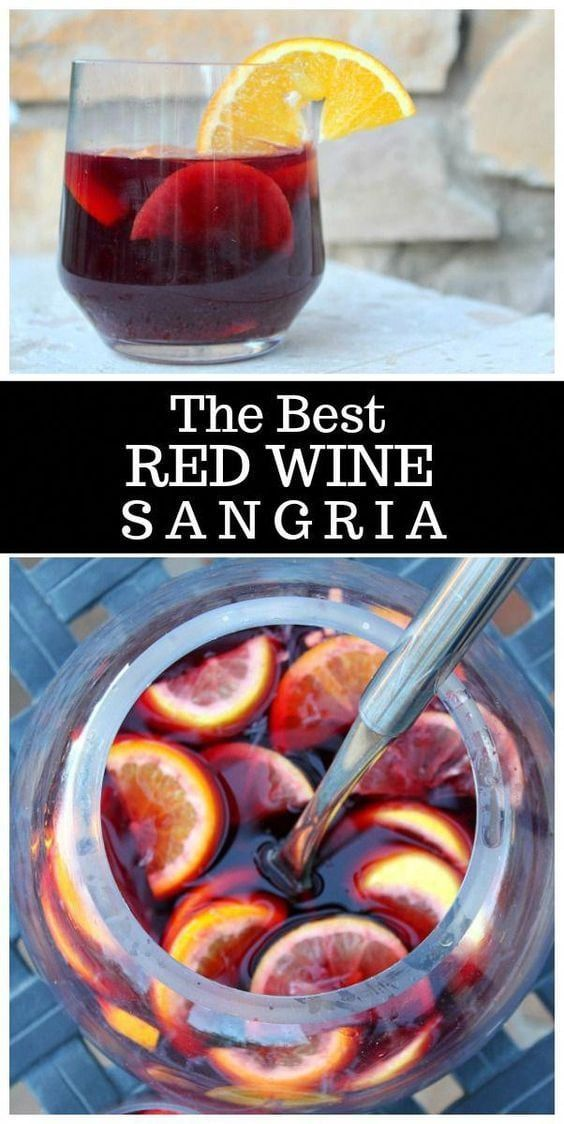 The Best Red Wine Sangria
