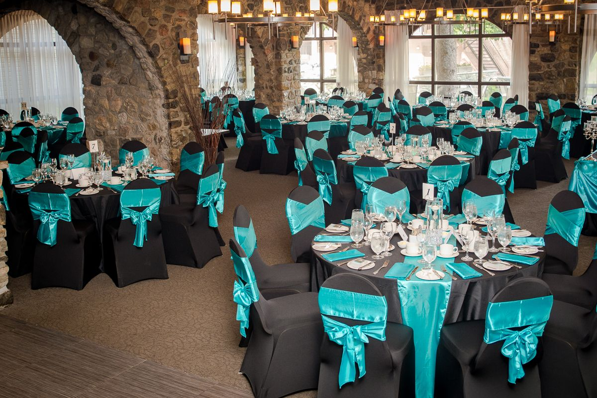 Teal Wedding Decorations With Beautiful Look