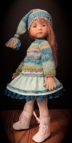 "Sweater Skirt Hat Fits Dianna Effner 13"" Little Darling | eBay"