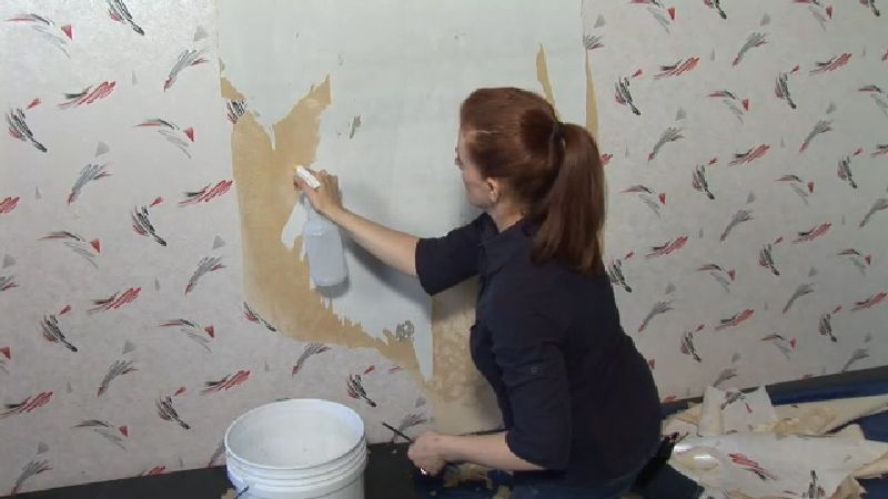Video How to Remove Wallpaper From Drywall Remodel