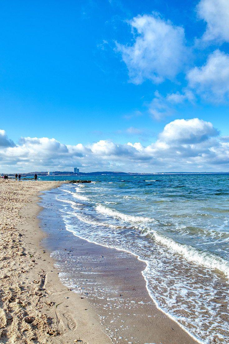 Ein herrlicher Strandspaziergang im Februar. Niendorf