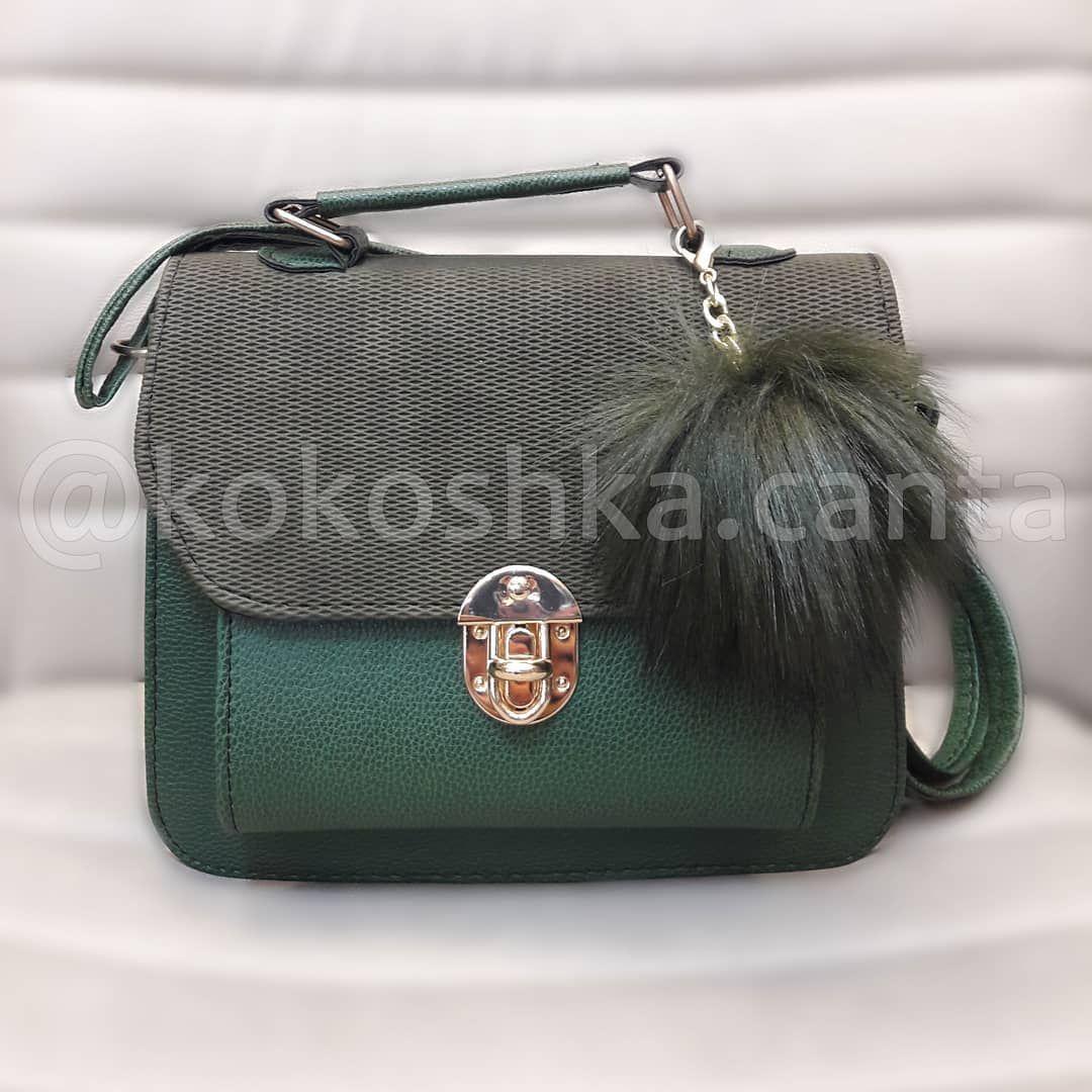 Petrol Yesili Canta Shoulder Bag Bags Fashion