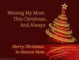 I Miss You Most At Christmas Christmas Mom Miss Mom Christmas