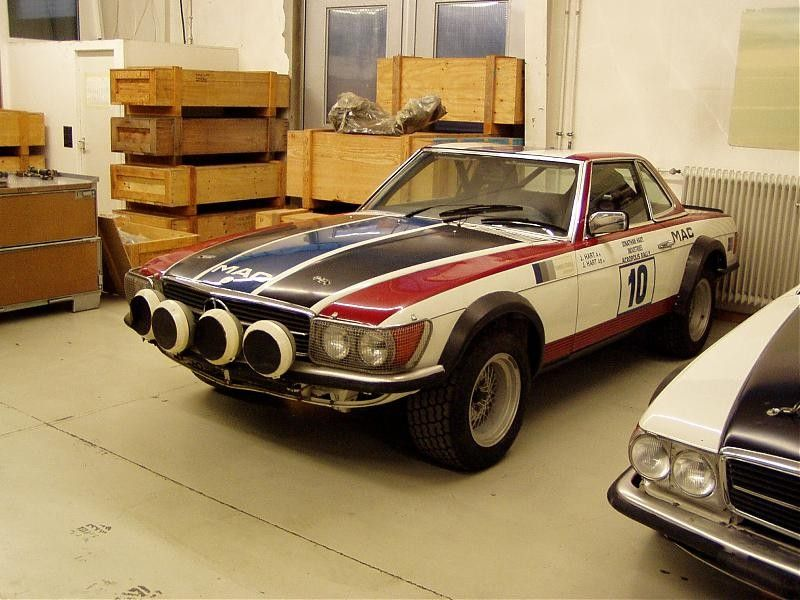The missing factory 500SL Rally Cars - Page 4 - Mercedes-Benz Forum ...