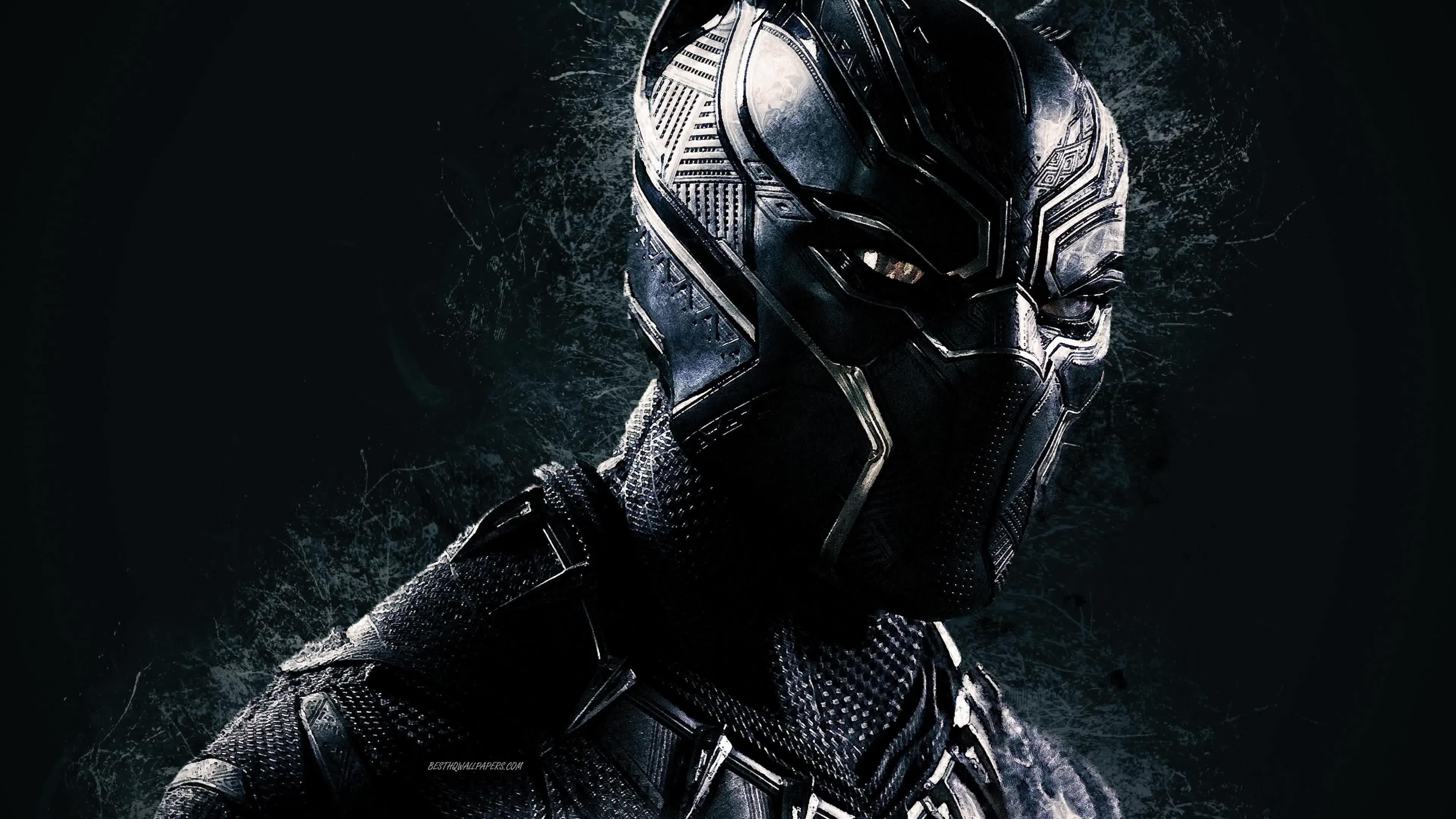 Marvel Black Panther 4K Live Wallpaper Panthère