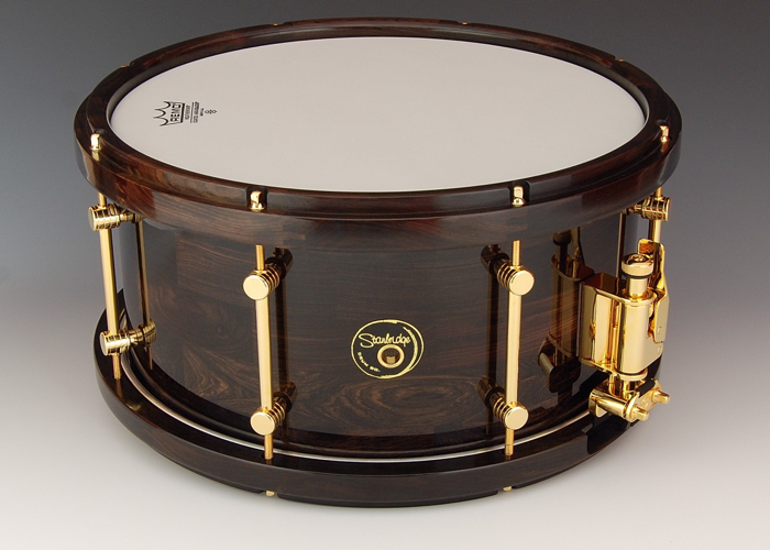 African Blackwood 14 By 7 With Matching Hoops Snare Drum Drums Drums Pictures