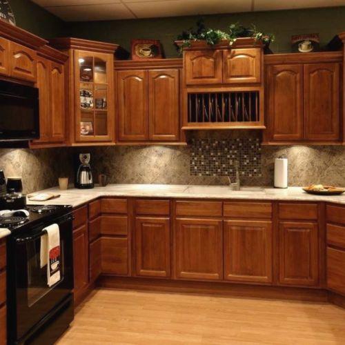 Golden Oak Kitchen Cabinets: Paint Colors For Kitchens With Golden Oak Cabinets Great
