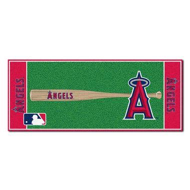 "Los Angeles Angels Baseball Runner Rug 30"""" x 72"""""