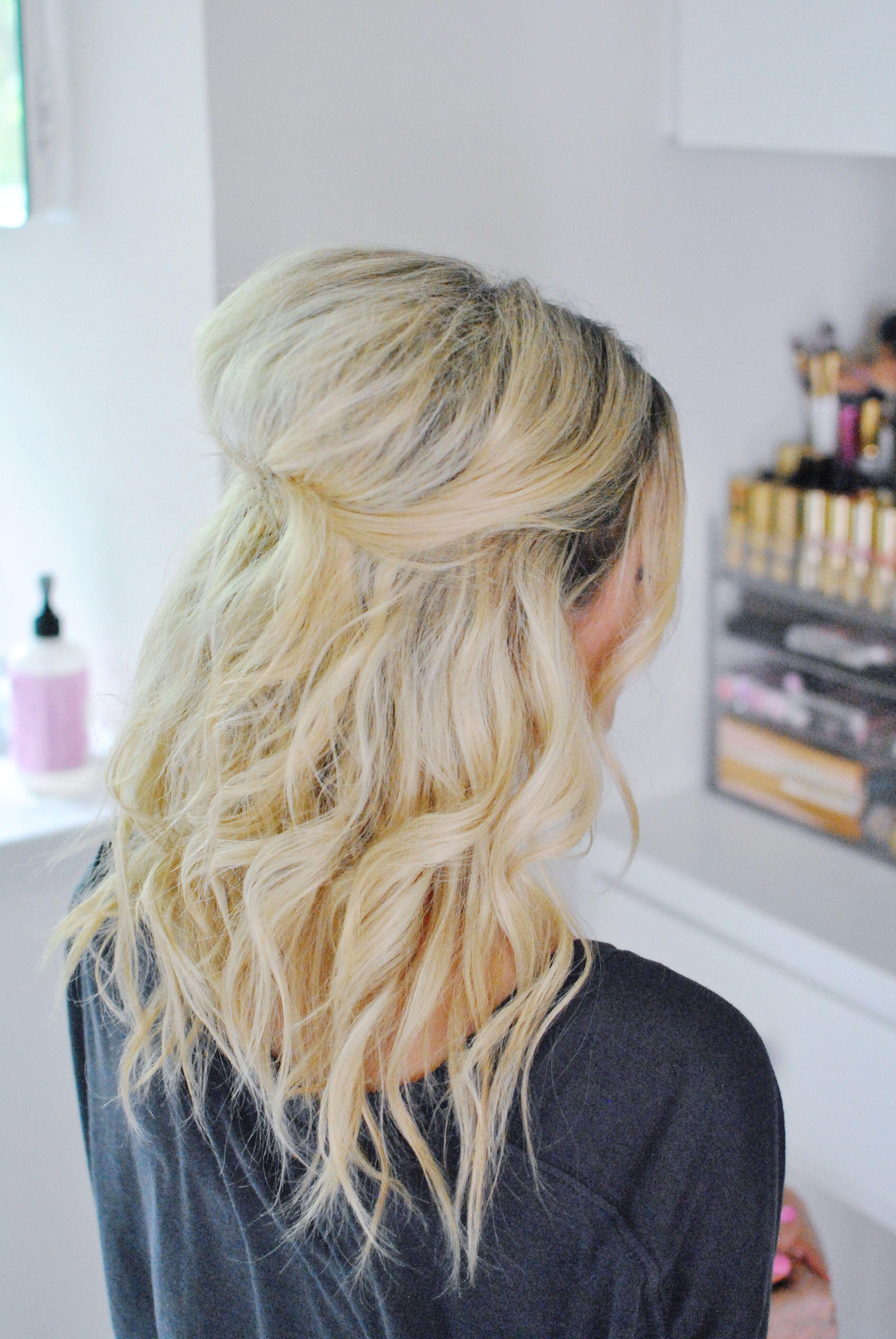 wedding guest hair tutorial | chronicles of frivolity | chop
