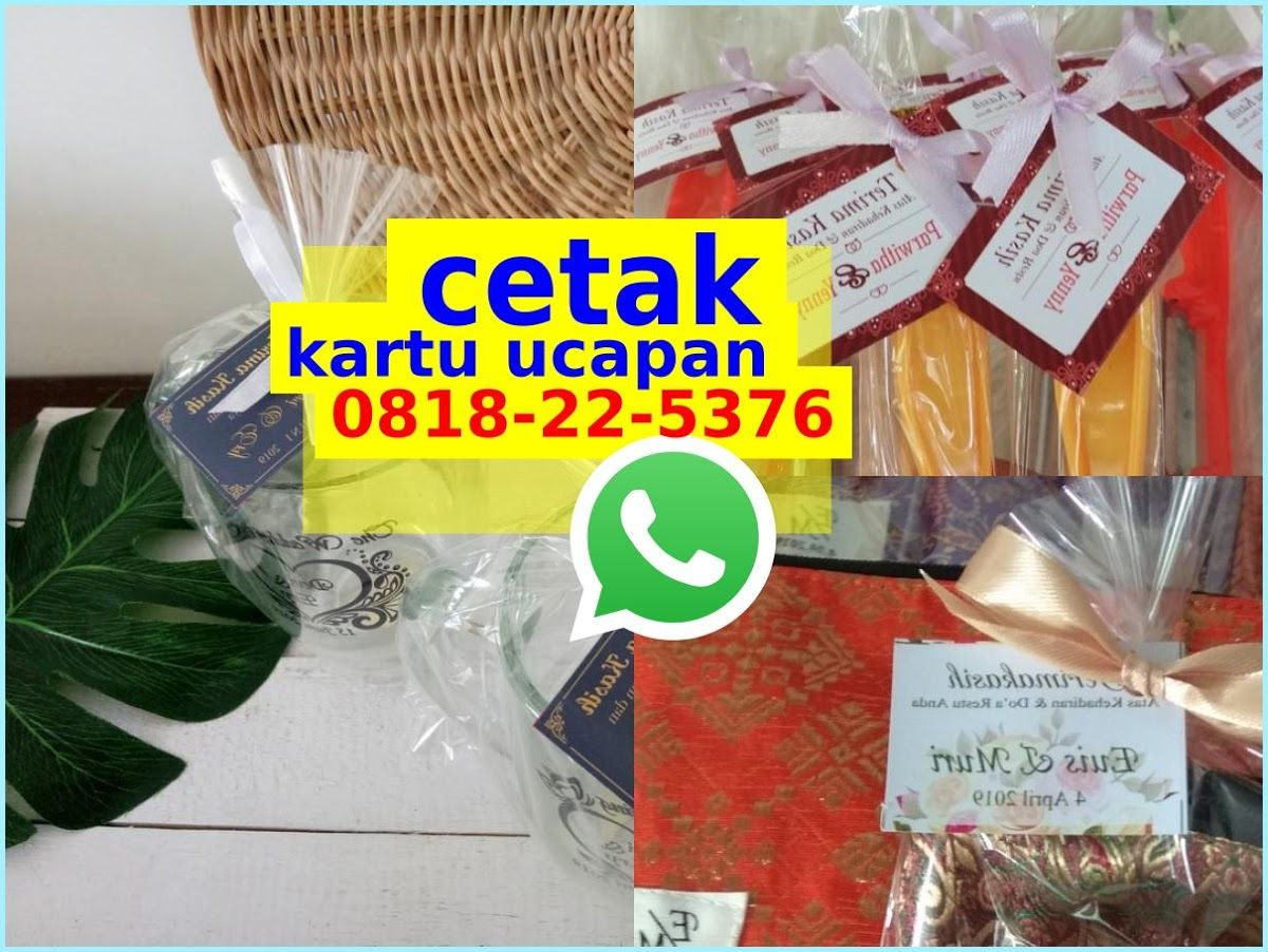 Kartu Souvenir Wedding Ô818-22-5376 {WhatsApp} | Souvenir ...