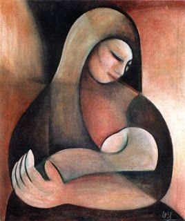 """Maternidad"" by Olga Blinder #ParaguayanArt"