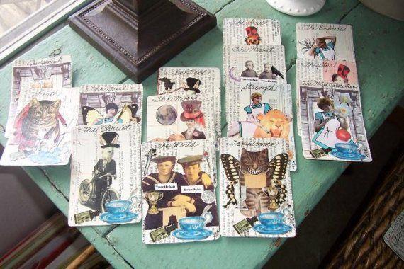 Handmade Tarot Cards Major Arcana 22 Tarot Cards By