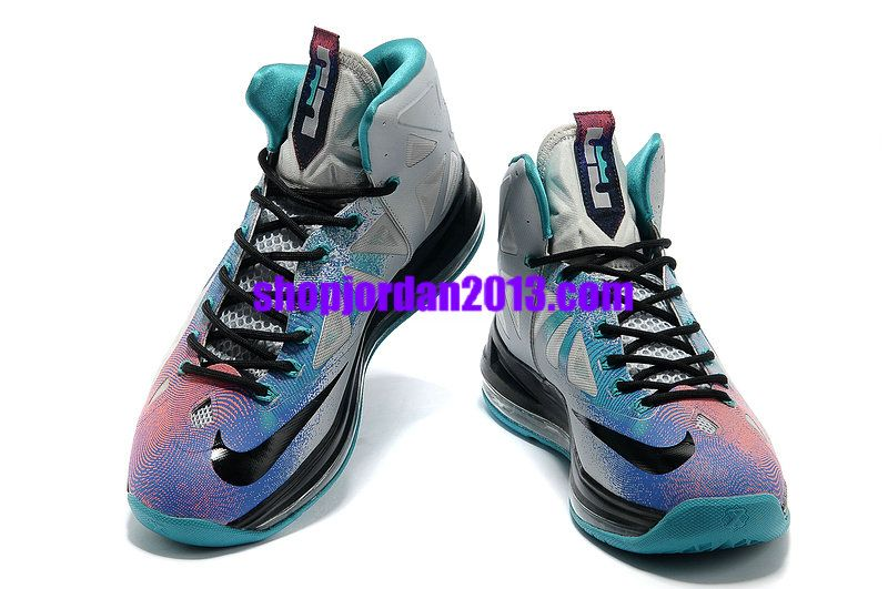 Women Nike Lebron 10 Pure Platinum Womens Basketball Shoes