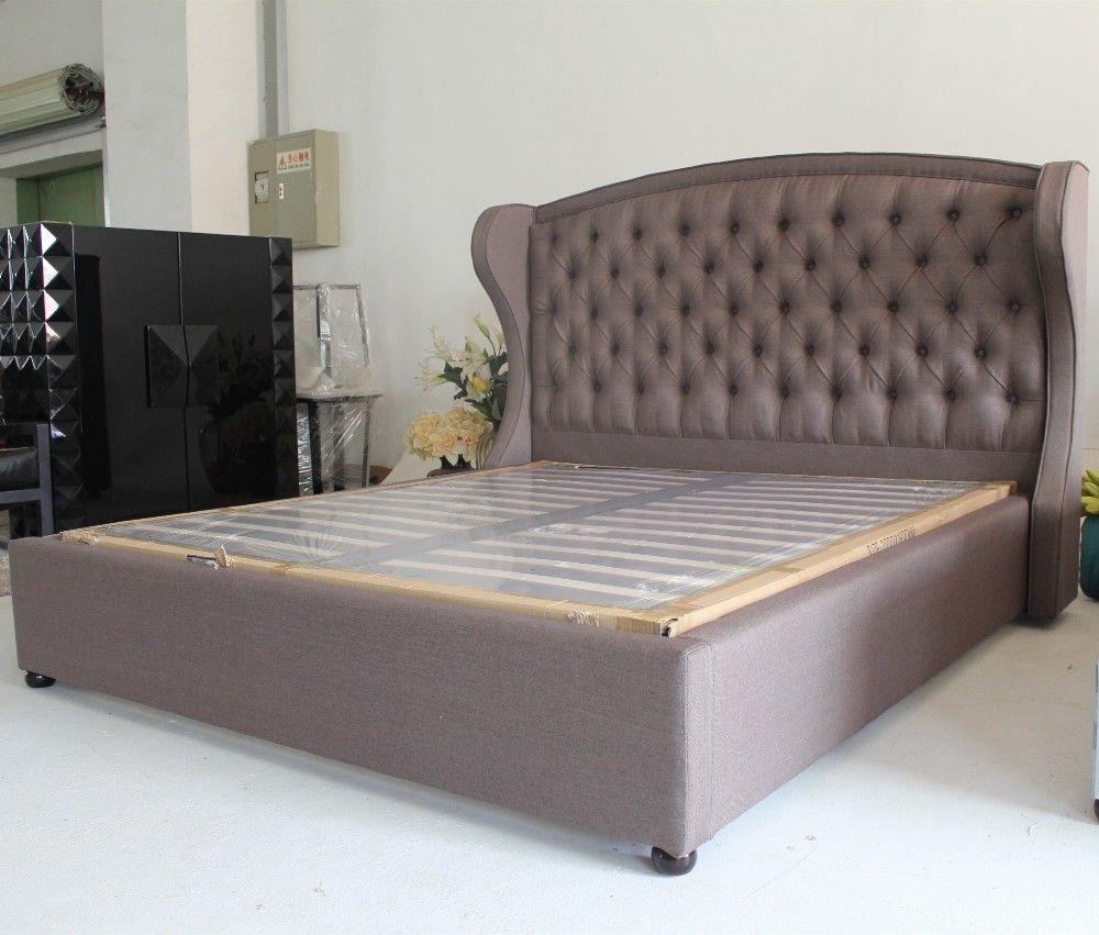 Aliexpress.com: Comprar Tela cama king size turco muebles importar ...