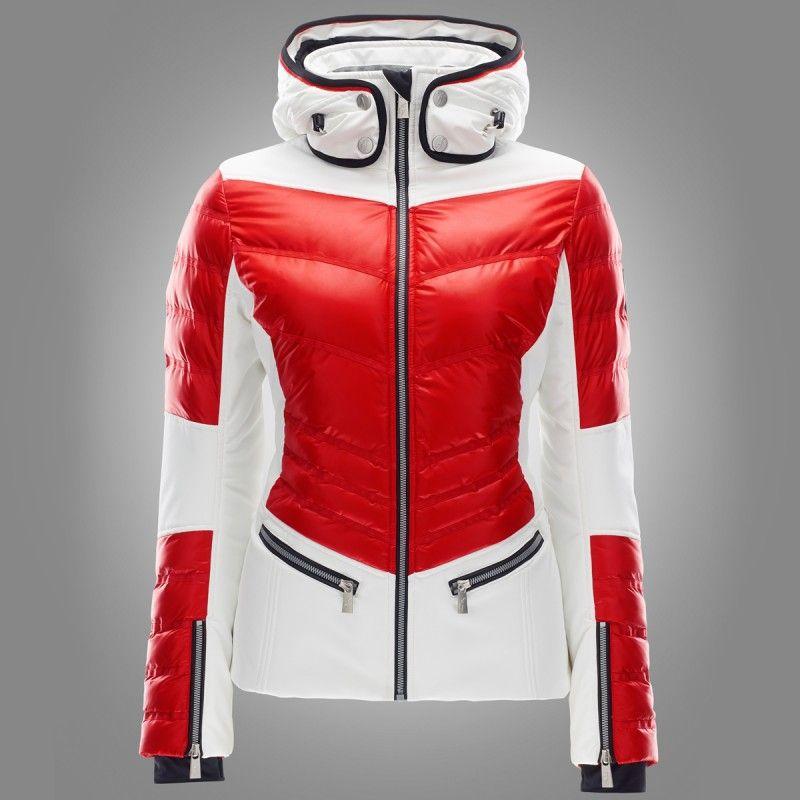 Toni Sailer Ginger Jacket flame red | Ski jackets for women | Pinterest | Ski wear Winter and ...