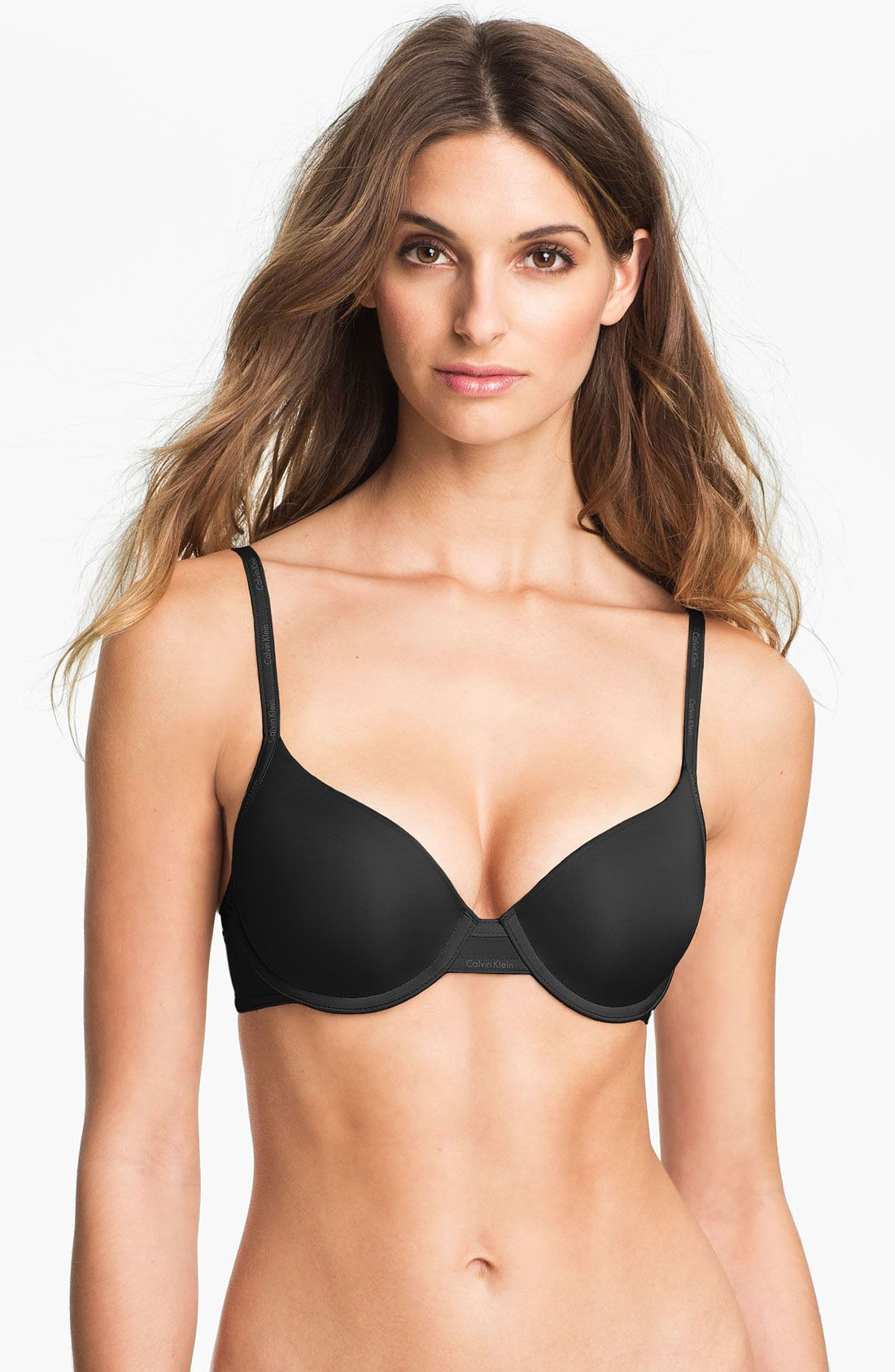 cea0c321944 Calvin Klein  Perfectly Fit Sexy Signature  Underwire Demi Bra ...