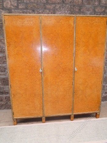 Art Deco Amboyna Wardrobe Antiques Atlas Art Deco Bedroom Furniture Antique Wardrobe Art
