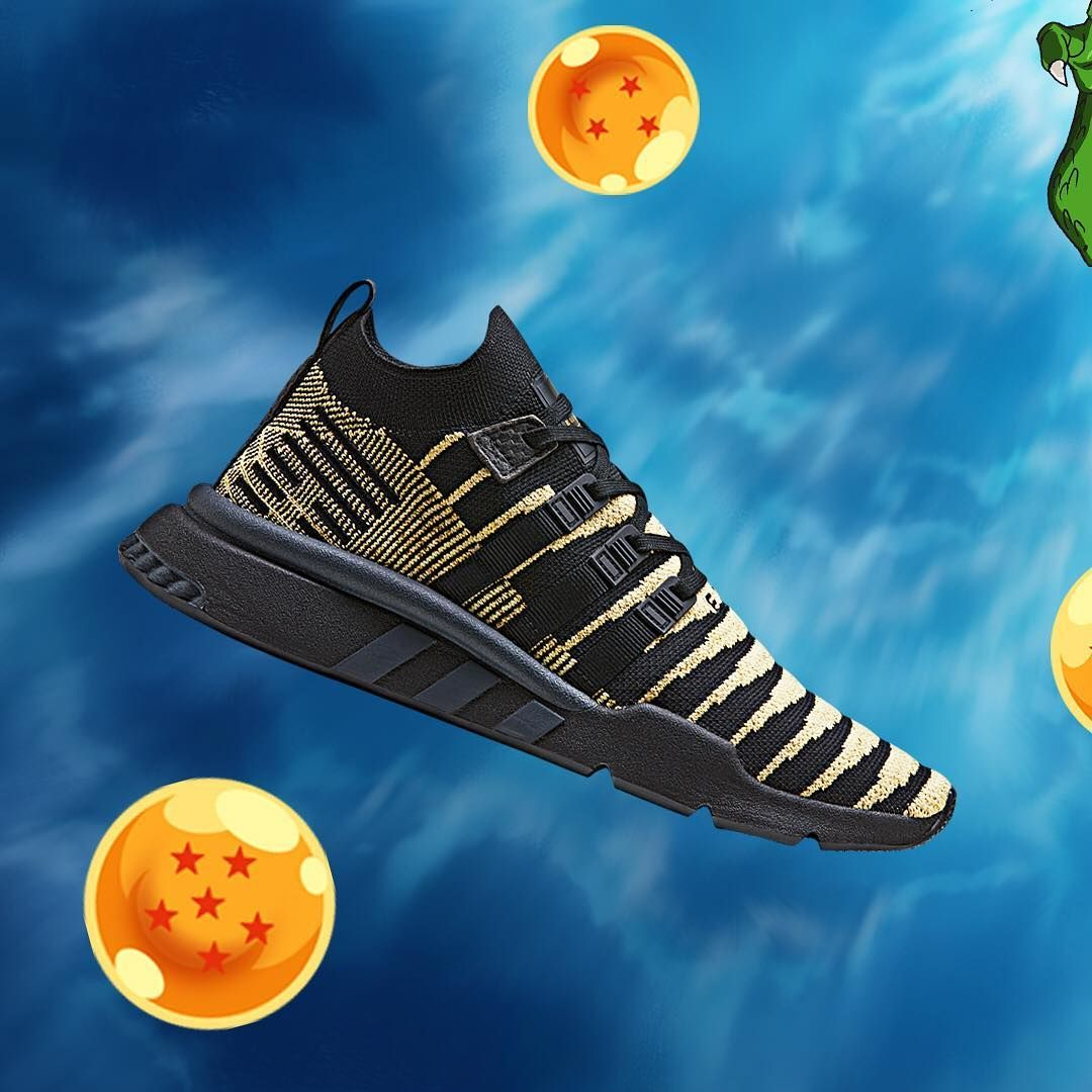 online store 9d02f 7f25c Two Colorways of Dragon Ball Z x adidas EQT Support MID ADV PK Shenron are  dropping this month to finalize the epic DBZ x adidas collabo.