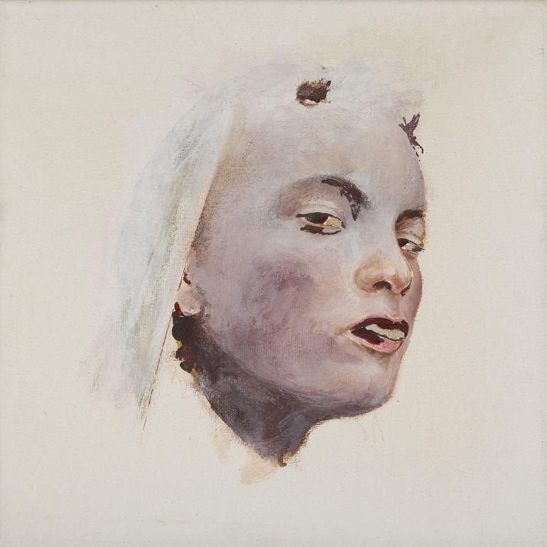 """Saatchi Online Artist: karien deroo; Oil, 2010, Painting """"halo III"""""""