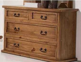 C modas de madera r sticas y perfectas para tu habitaci n for Muebles juveniles la plata