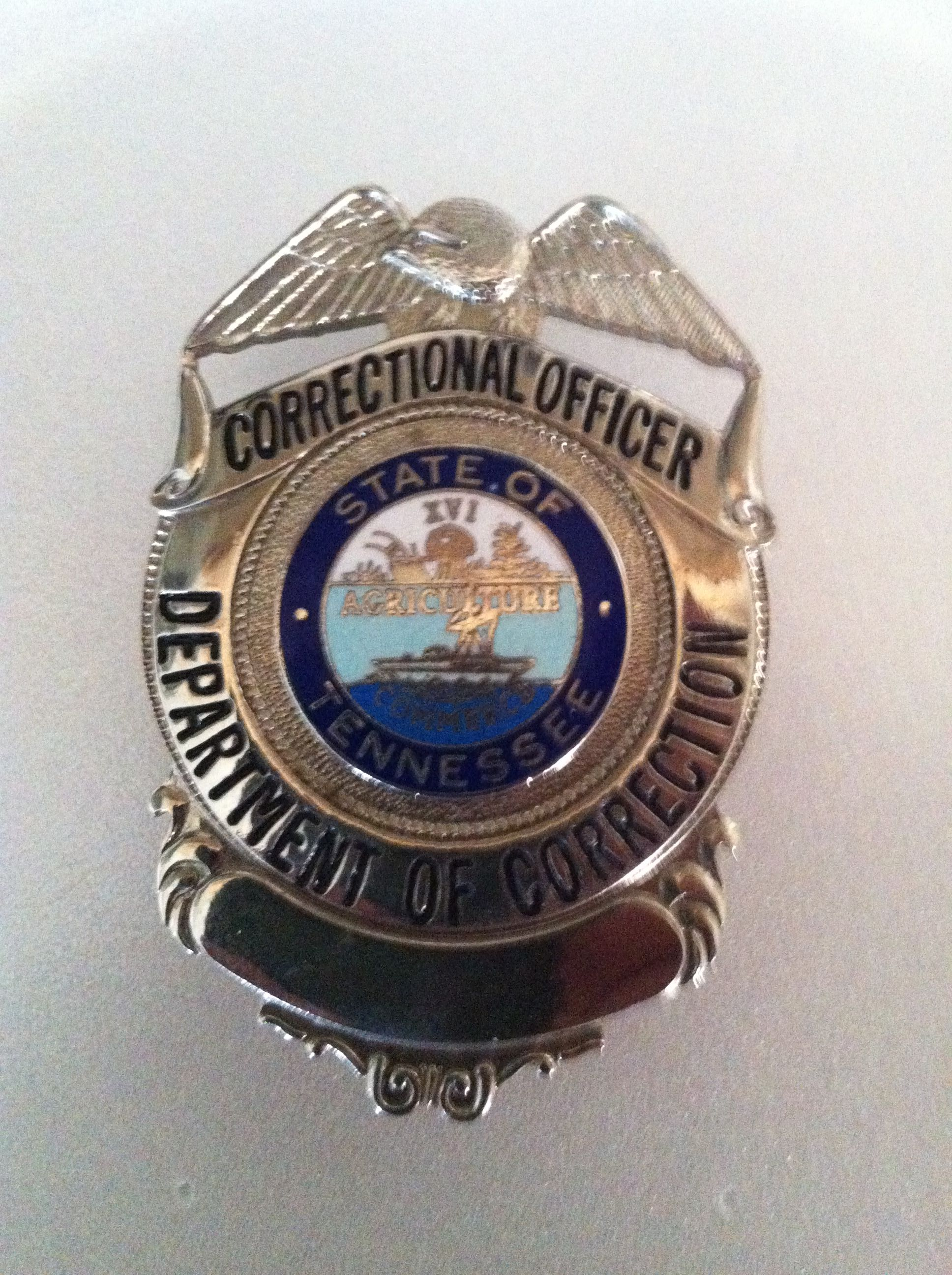 Etonnant Tn Correctional Officer Badge