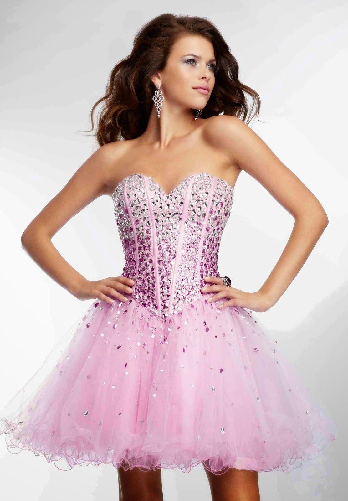 Hermosos vestidos cortos de fiesta | Colección 2014 | vestidos ...