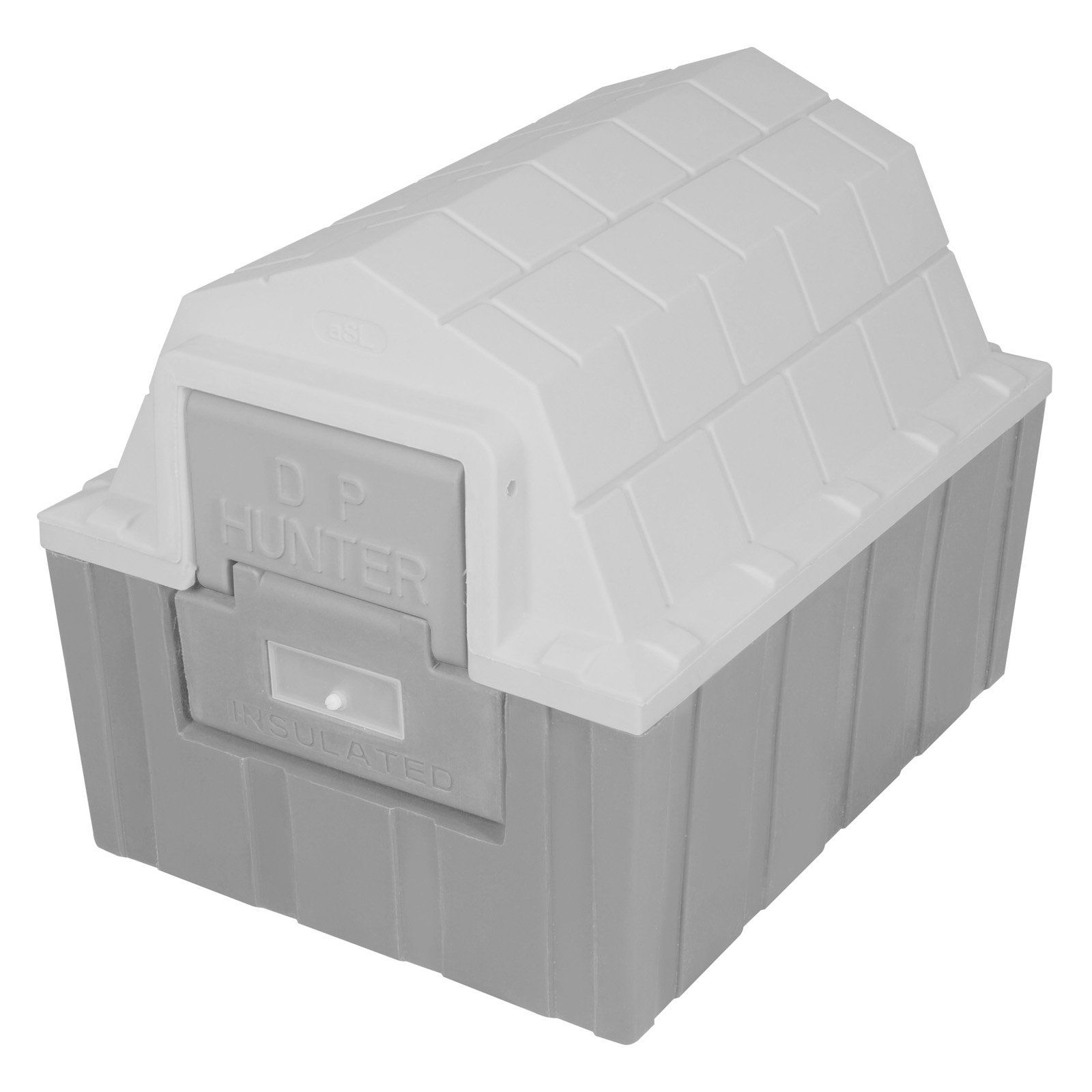 Asl Solutions Dp Hunter Gray Dog House In 2019 Insulated Dog