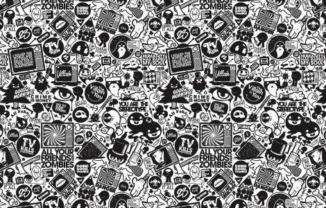 White And Black Wallpaper Designs
